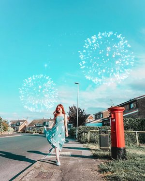 Is it almost September yet?  Whoopee! This means the holiday season is almost upon us!  These fireworks completely reflect how I feel inside! 💃😝 #ilbtravels