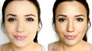 Contour and Highlight Face,Cheeks,Nose & Eyes - YouTube
