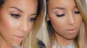 Neutral Glam Makeup Tutorial! - YouTube