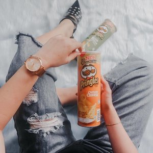I found my new favourite go-to snack! Pringles All New Crunch is not only crunchier, it tastes really great and more like natural potatos too. Try them now! #Pringles #AllNewCrunchPH