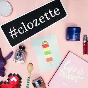 Happy 5th birthday, Clozette! Good job to everyone who made this a successful one 💕 #clozettestyleparty #clozettebeautyflatlay #clozette