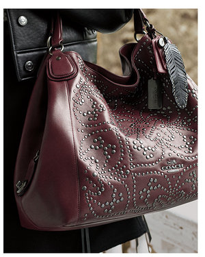 Love this studded bag from Coach! #wishlist