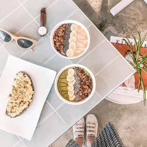 Energy bowls! 🍋 . . . . #breakfast #foodporn #clozette #loveelishadotnet #life #cebublogger #dgteblogger #bloggerph #flatlaysbyelisha