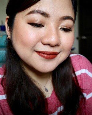 💄 @ebadvance RAW BURGUNDY 💋 ▫️▫️▫️ #ggss #asian #beauty #filipina #selfie #selca #plussizebeauty #pinay #pinaybeauty #makeup #everydaymakeup #makeupaddict #makeuplover #makeup #makeupph #beauty #bbloggers #bbloggersph #clozette #ebadvance #lipstick