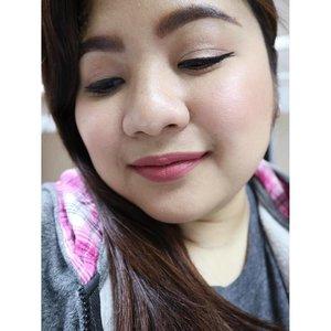 Hello eyeshadows, my old friend, I've come to talk with you again. 😁😁😁 👁 MAC eyeshadows 💋 Happy Skin Moisturizing Matte Lippie in Honeymoon Glow. ✨ 😊 Blush is NYX Angel + Hourglass Luminous Flush 👼🏼 ▫️ ▫️ ▫️ ▫️ ▫️ #clozette #fotd #lotd #ggss #girl #asian #makeup #beauty #filipina #selfie #selca #plussizebeauty #pinay #pinaybeauty #happyskinph #honeymoonglow #nyxcosmeticsph #hourglasscosmetics #maccosmetics
