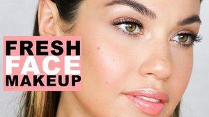 Fresh Face Natural Makeup - YouTube