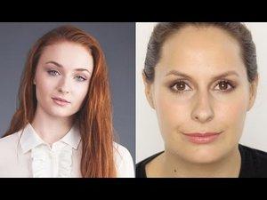Sophie Turner Makeup Look - YouTube