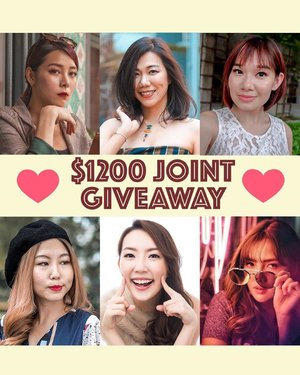 [Giveaway!] Teaming up with my girls to find new homes for products we love! 💛  To take part in our giveaway, make sure you complete all steps below! 💕 Follow all 6 of our accounts  @estherksz @qiyunz @vinvola @Sodapopp @jacelynphang @melissajaneferosha 💕 Tag a friend in a comment below. One comment represents 1 entry. You may tag and comment as many times as you wish on all of our accounts to increase chances of winning. 💕 Repost this on your Insta-stories and tag all 6 of us for an extra chance to win!  6 winners will be randomly picked. This Giveaway is open to SG local readers only and ends 16 July 2019. Good luck! . . . #clozette #sgbeauty #sggiveaway #flatlaysquad #sgcontest #sgbloggers #sgmakeup #singapore #flatlaysquad