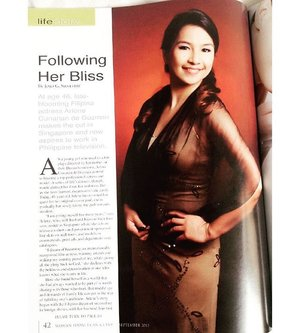 Thinking back to some great things in the past, grateful for them & opportunities like this! #Throwback to LifeStory; Woman Today Magazine.  Stay tuned for the launching of the Beauty Book.. 2 more weeks!  #throwbackthursday #womantodaymagazineph #womantodaymagazine #womantoday #clozette