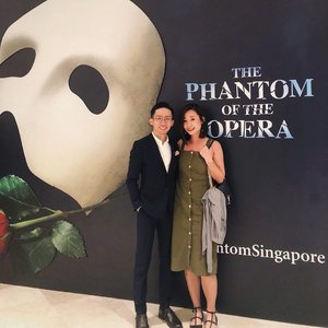 Frog out of the well experience. Thanks for watching this with me, @fishermansng 🎭 x #marinabaysandstheatre #phantomoftheopera #datenight #igsg #vscocamsg #igersingapore #clozette #igers #vscosg #vsco #throwback #suitup #lotd #ootd #igfashion