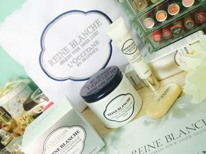 The new addition to L'Occitane Reine Blanche, the Whitening Sleeping Mask and Illuminating Eye Care & Mask for me to try out. Been using them for almost a week now, I am hooked! :) More info at  #ClozetteBloggerBabes #clozette & #loccitanemalaysia #reineblanche & #innerlight