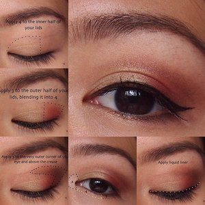 #HowTo incorporate the red #Dior shadow to your everyday look by #Clozette girl @diagonalll. Very wearable and pretty, don't you think? #beauty #makeup