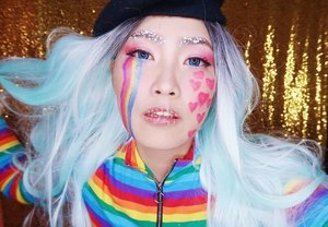 💕💕 day everyone! This kawaii candy make up is now up on my channel. link in my bio #heartlips #kawaiimakeup #clozette #clozetter #fashionmakeup#valentinesday2019