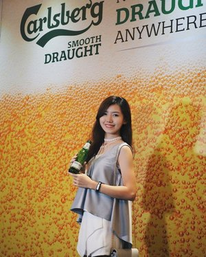 Could go for some Carlsberg Smooth Draught all day, all night. #Carlsberg #drinkdrankdrunk