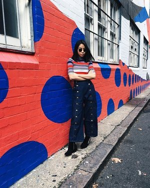 matchy-matchy with the wall  #clozette #stylexstyle