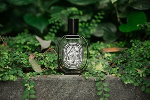 Take a walk on the wild side with @Diptyque's Eau de Minthé 🌿 A modern Fougère take on ancient Greece, with heart notes such as mint, patchouli and geranium.. this green aromatic fragrance is pretty strong on the masculine side. Despite the name, this is definitely will not remind you of your typical minty toothpaste, but something much more aromatic and herbal. It won't be a scent I see myself wearing, though I won't mind catching a whiff or two from my hubs 😋 x . #clozette #diptyquesg #diptyque #escentials #escentialssg #luxasia #fragrance