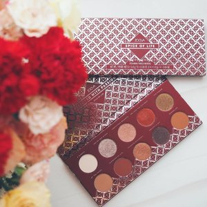 While I'm in the mood for reddish hues in my feed, spice up your life with @Zoevacosmetics Spice of Life Eyeshadow Palette. These 10 matte and metallic shades are super pigmented and versatile to work with, so go ahead, mix and match your hearts content to create a variety of looks from subtle to dramatic! x . #clozette #sephorasg #sephora #zoecosmetics #zoeva #sgig #sgbeauty #igbeauty