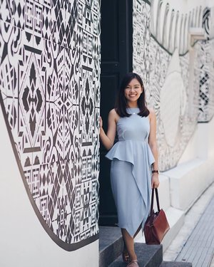 Throwback to my ootd on Valentine's Day and still loving my hair length! @salonvim @edmund_chin21