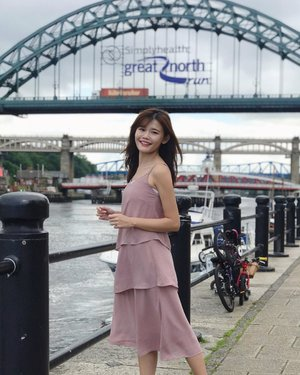 Newcastle will always have a very special place in my heart ❤️ I was happiest there when I was at my lowest. #maybelinetravels #newcastle