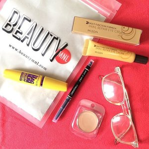This week's haul is all about the eyes! Thank you @beautymnl for a smooth transaction, as always. ❤️ #Clozette