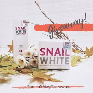 Bouncing back here on Instagram with a giveaway! ❤️ Thank you for all the love and support. Please expect regular posts here on Instagram na ulit. Hihi  Get a chance to win 2 of my favorite products from @snailwhitephils 😍 just follow these simple steps:  1. Follow @snailwhitephils and @danicadelossantos 2. Subscribe to my YT channel: www.youtube.com/danicadelossantos 3. Repost this photo once with the hashtag: #DanicaxMayGiveaway #giveawayph 4. Tag as many friends as you can down below  Good luck! ❤️ #clozette #snailwhitebynamu #snailwhiteph #snailwhiteindonesia #snailwhitesunscreen #snailwhiteph #snailwhite #snailwhitethailand #skincareph #tintedmoisturizer