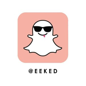 After many rounds of downloading and deleting the app... it's now official, I've been converted. #snapchat #clozette #eekedinspired