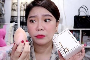 "⚠️GIVEAWAY ALERT⚠️ . - So is it worth the ""hype"" ba talaga? Does this face expression means ""ay, in all fairness, maganda!"" or ""so eto na yun? Totoo ba?!"" 😉 WATCH the video thru the link in my bio! - Giving away ONE (1) Pink #AirblenderSponge!! ♥️ Just make sure to SUBSCRIBE to my channel (Miss G TV), and SHARE the video on your Facebook or Instagram account. Use the hashtag #airblendergiveawaybymissg ♥️ and tag your friends!!! - More chances of winning if you'll engage on my posts😊 Will announce the winner on March 3, 2019. Open for PH residents only. GOOD LUCK LOVES! . . . #allcoveredbyac #airblendergiveawaybymissg #missgdiaries #missgblogs #clozette #beauty #giveaway #contestalert #contest #beautysponge #makeup #abcommunity #annacay"