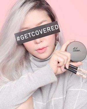 Getting my bases covered with @cliosingapore Kill Cover Founwear Cushion XP and Airy-Fit Concealer, the ideal duo for that flawless, long-lasting, soft velvety finish. - Available now at selected Watsons stores! #getcovered #cliosg #clozette