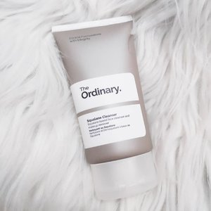THE ORDINARY Squalane Cleanser ⠀⠀⠀ ⠀⠀⠀ I bought this cleanser when I saw that it removes makeup + gentle on skin + it's from my favorite Western brand: The Ordinary. Ingredients wise, Squalane is the first from the list. Squalane is a great moisture ingredient and works like a hydrator that's found naturally in the skin, helping to prevent loss of moisture and boost suppleness. ⠀⠀⠀ ⠀⠀⠀ I have used this cleanser to remove my full makeup, so I didn't use any makeup remover, just the cleanser. ⠀⠀⠀ ⠀⠀⠀ HOW TO USE Rub the cleanser in your palms to warm it until it melts into an oil. Massage into dry skin, then rinse with warm water. ⠀⠀⠀ ⠀⠀⠀ So this cream cleanser works like a cleansing oil but in a non-foaming cream form! It removed my  mascara and eyeliner without stinging my eyes. For my waterproof lipstick - it does leave like 10% on the edge and lip lines, some lipsticks and lip stains got all wiped. I feel like I can just bring this on travels and forget the baggy micellar water, oil based makeup removers, cleansing balms and cleansing oils. No tight feeling, no stripping just clean, soft and hydrated. If you prefer cleansers that gives the squeeky clean, you can skip this one. ⠀⠀⠀ ⠀⠀⠀ Down side maybe is the availability and the size. You have to find resellers online or if you have relatives/friends coming from US/Canada/Korea. 50ml is okay but I look forward for a bigger size because I'll surely repurchase this! If I'll use it everyday, I might run out easily. My perfect cleanser + makeup remover in one! A lot of users already requesting for a bigger tube, just hoping Deciem will do something about it