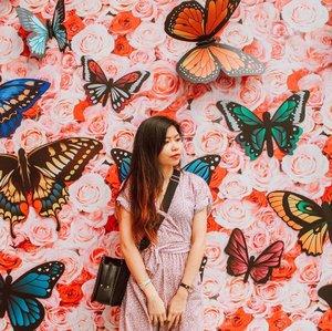 Blending into the background 🦋 . . . . . . #clozette #clozetter #starclozetter #clozetteco #pink #crayyzeeexplores #crayyzeetravelogue #crayyzeeinhongkong #hongkong #ngongping #travels #traveling #explore #explorehongkong #instagood #art #artsy #artistic
