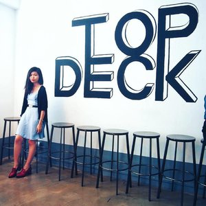 Yesterday at Top Deck, before the awesome workshop held by @ClozetteCo and @TheAmbitionista happened. A surreal experience; meeting wonderful people, learning so many useful things about blogging and things that can improve myself.