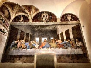 The Last Supper by Leonardo Da Vinci, 1498. A great but yet short 15 minutes experience.