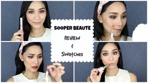 Hey Guys! So here's my REVIEW & SWATCHES of Sooper Beaute's Makeup Products. I just looked up their IG account and they are having a huge SALE for the whole month of September. I hope you find this video helpful. Have a nice day! 💕  Love, Mimi  #sooperbeaute #sooperbeauteproducts #review #swatches #localmakeup #localproduct #philippinemade #pinay #pinayyoutuber #clozette #makeupjunkie #makeuplove