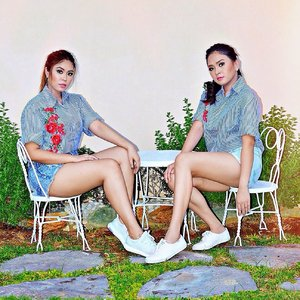 Twinning outfit with my bff! #Clozette #StylebyMgrazielle