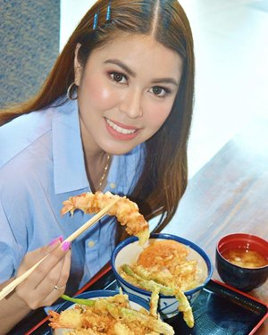 Moshi moshi! Good news to all tempura lovers! It's TEN-YA day today at @tenyaph Enjoy their Buy 1 Take 1 Classic Tempura Tendon. Yes! Available all-day in all #TenyaPh branches! So hurry and make your tummy overly satisfied! #TenyaYourTempura #AsakusaOriginal #AD #SponsoredPost #Clozette