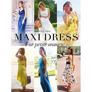 Maxi dress for #petite women? Worries no more because I have some great #styling tips for you. Read more on my blog: http://www.crystalphuong.net/2014... Read more →