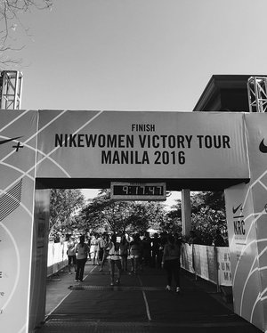 So this just happened! 😲😲😲 #NikeWomens21k #Clozette