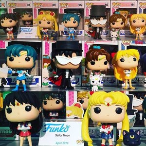 Official photos of all the Sailor Moon Funko Pop! figures!! 💖💕💓Funko recently showcased these adorable pops at the New York Toy Fair 2016 convention 🤗 I really want Luna & Artemis the most 😸 To be released in April 2016  #美少女戦士セーラームーン #セーラー戦士  #魔法少女  #sailormoon #sailormooncollection #sailormooncollectibles #sailormoon20thanniversary #sailormooncrystal #sailormoonfans #bishoujosenshisailormoon #sailormooncollector #clozette #magicalgirl