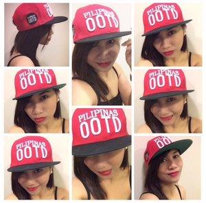 Pilipinas OOTD baseball cap.