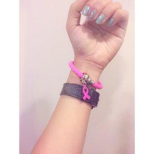 Pink ribbon month. 😊 #clozette #pinkispower #isupportbreastcancerawareness