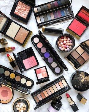 Some sexy black baybehs - aren't these luxury beauty products gorgeous? 🤩 - - - - - #tomfordbeauty #bobbibrown #yslbeauty #marcjacobsbeauty #suqqu #eyeshadowpalette #charlottetilbury #givenchybeauty #guerlain #meteorites #hera #chanelbeauty #cledepeaubeaute #luxurybeauty #clozette #makeup #makeupaddict  #ilovemakeup #Косметичка #красота #kosmetik #cosméticos #cosmeticos #cosmetica #kosmetyki #maquillaje #뷰티그램 #코스메틱  #Косметика #化粧