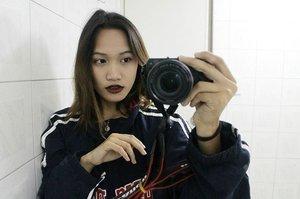 Missin' this black lippies 😍 . . .  #fashion #beauty #selfie #clozette #classyandfashionable #instalike #lipstick #likeforlike #ootd #style
