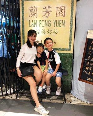 Welcome to Hong Kong🇭🇰 #蘭芳園 #sgmums #boymama #starclozetter #clozette