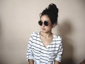 Casual stripe top
