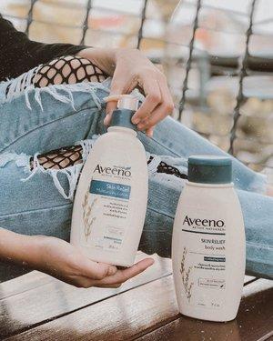 Aku pengen share sedikit ni mengenai perawatan untuk urusan kulit aku yang kering. . Jenis kulitku itu kering, dan ditambah aku pemilih dalam urusan Body Care. Nah kebetulan aku dikasih kesempatan untuk coba produknya @Aveeno_id yang Skin Relief Moisturizing Lotion dan Body Wash nya, Kandungan triple oat complex + natural shea butternya menjaga kelembapan kulit aku. Healthy skin, happy me! Menurut aku, #Aveeno ini perlu untuk di coba! Love banget! #AveenoSkinJourney #Aveeno #AveenoID #SkinHappy #clozette #clozetteid #bodycare #beautynesiamember #theshonet