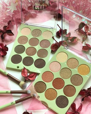 These @pixibeauty #eyeshadow #palettes are so pretty! As you might expect from a #pixibeauty #palette, the #eyeshadows are mostly metallic, and have a texture that's similar to other #pixi eyeshadows - somewhat soft and occasionally flakey. Pigmentation is decent too. I personally prefer the cooler toned palette because there are some matte shaded inside, the bronze palette is al shimmers and metallics (which is great if that's your thing!). They're really pretty #neutralmakeup shades that will suit a variety of skintones. . . . #clozette #beauty #makeup #cosme #eyeshadowpalette #eyeshadowpalettes #pixibeautysg #pixibypetra #pixipretties #flatlay #makeupaddiction #makeupobsessed #makeuplife #makeupaddict #makeupjunkie #makeupblogger #beautybloggers #beautymakeup #beautylover