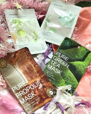Super loving these #Tosowoong and #Innisfree #sheetmasks from @elucidatesg - this is an online shop (based in SG - so no need to pay for international shipping!) selling #kbeauty #skincare and #beauty products! I've no idea which #mask to use first, but these are all great - they look hydrating and have no alcohol! Gonna give a more detailed review soon! . . . #kskincare #clozette #flatlay #koreanskincare #koreanbeauty #sheetmask #sheetmaskkorea #sheetmaskaddict #facemask #facemasks #kbeautyskincare #kbeautylover #kbeautyaddict #kbeautyblogger #rasianbeauty #abcommunity #abblogger #innisfreesheetmask #innisfreesheetmask
