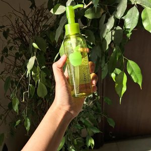 "@innisfreeindia Apple Seed cleansing oil 🍏. I got this because of @vickytsai 's book and the fact that the 10 step skincare routine requires a double cleanse. I've been using this almost daily for about a month now and I like it. In the start I felt like ""oh this does nothing :/"" but the more I use it the more I notice that it really does help cleanse the skin! And it's really good for taking off makeup too (micellar water who?). It's really gentle and you don't need a whole lot of it- just make sure your hands and face are 100% dry when using or it doesn't work like it should. It is also pretty decently priced so that's another plus.  The only con I can think of is that it smells pretty strongly like green apple candy lol. I don't like that so I might not repurchase in the future- maybe I'll try the green tea variant from the brand?  Rating : 3.5/5 (docked 1 point for the fragrance lol 🍏)"