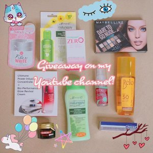 Giveaway Alert! 😁😁😁 Watch my video (Huge Haul + Giveaway) if you haven't. 😉  Mechanics: 1. Subscribe to my channel (http://www.youtube.com/yellowyum) and turn the notification on by clicking the bell button. 2. Comment with what you want to ask me (for a Q&A video). You may also leave your requests on what videos you want to see. 3. Follow me on Instagram 4. Like this giveaway photo and leave a comment saying you joined the giveaway and tag 2 of your friends. 😘 *Giveaway is for Philippine residents. *Prizes may be claimed at any branch of Pooch Park or have it shipped. Shipping fee via winner. *Giveaway is until June 18, 2017.