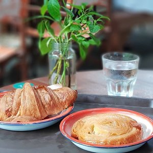 Sinful Kouign-amann, a delightfully rich pastry from Brittany, enjoyed at the new Tiong Bahru Bakery Safari at Dempsey, in a comfortable and rustic tent.  #clozette #foodspotting #iweeklyfood #fooddaddict  #foodgasm #foodpic #sginsta #sgeats #foodshare #nomnom #igersgs #foodporn #yummy #foodsg #burpple #sgfood #sgfoodbloggers #sgfoodies #igsgfoodies &#bakery #kouignamann #pastry